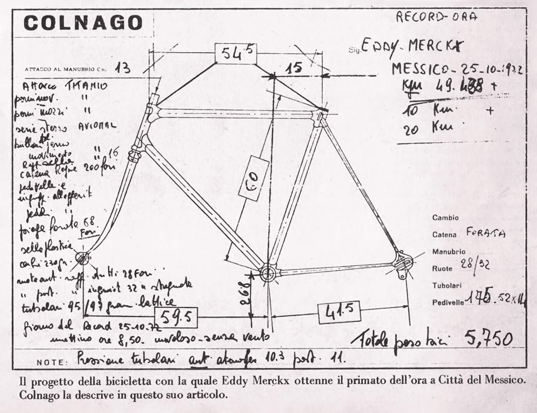ebykr-eddy-merckx-hour-record-ernesto-colnago-bike-spec-sheet (Ernesto Colnago: Fortune in Fracture and Ferrari)