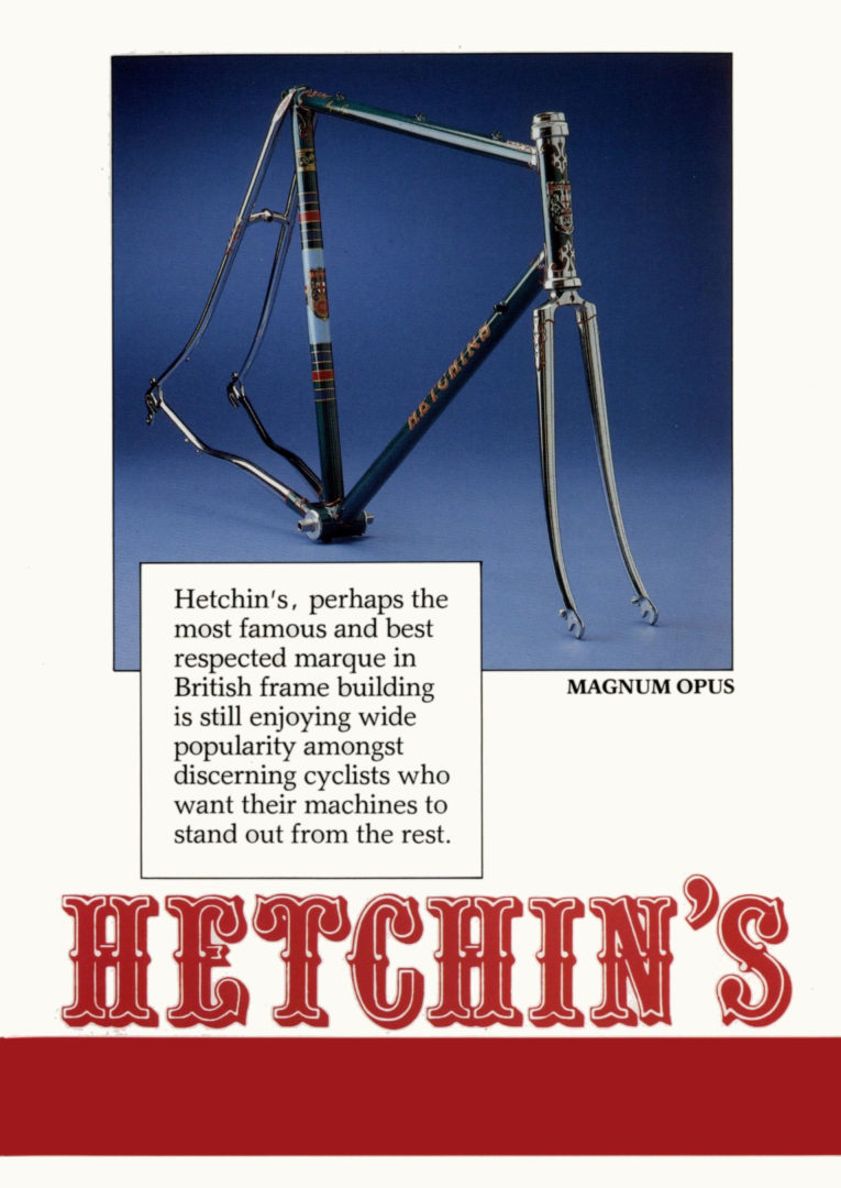 Hetchins Magnum Opus (Hetchins Bicycles: Meticulously Lugged)