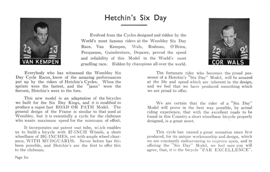 ebykr-hetchins-six-day-racers-c1940-catalog-page-6 (Hetchins Bicycles: Meticulously Lugged)