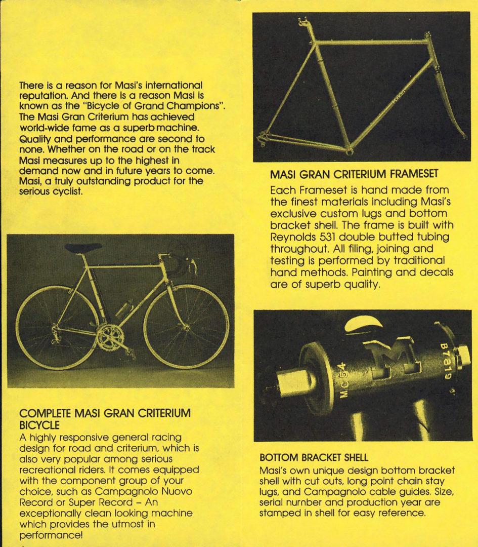 ebykr-masi-usa-1978-catalog-2 (The Mystique of Masi: From Vigorelli to Volumetrica)