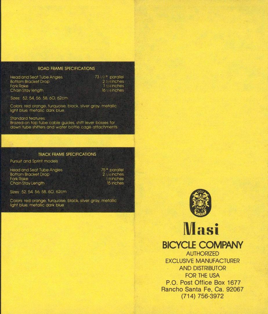 ebykr-masi-usa-1978-catalog-4 (The Mystique of Masi: From Vigorelli to Volumetrica)