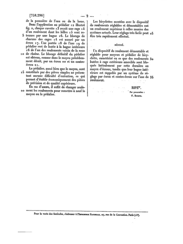 ebykr-1933-celestin-ripet-patent-application-annular-bearings-july-13-page-2 (Maxi-Car and the Old Roller)