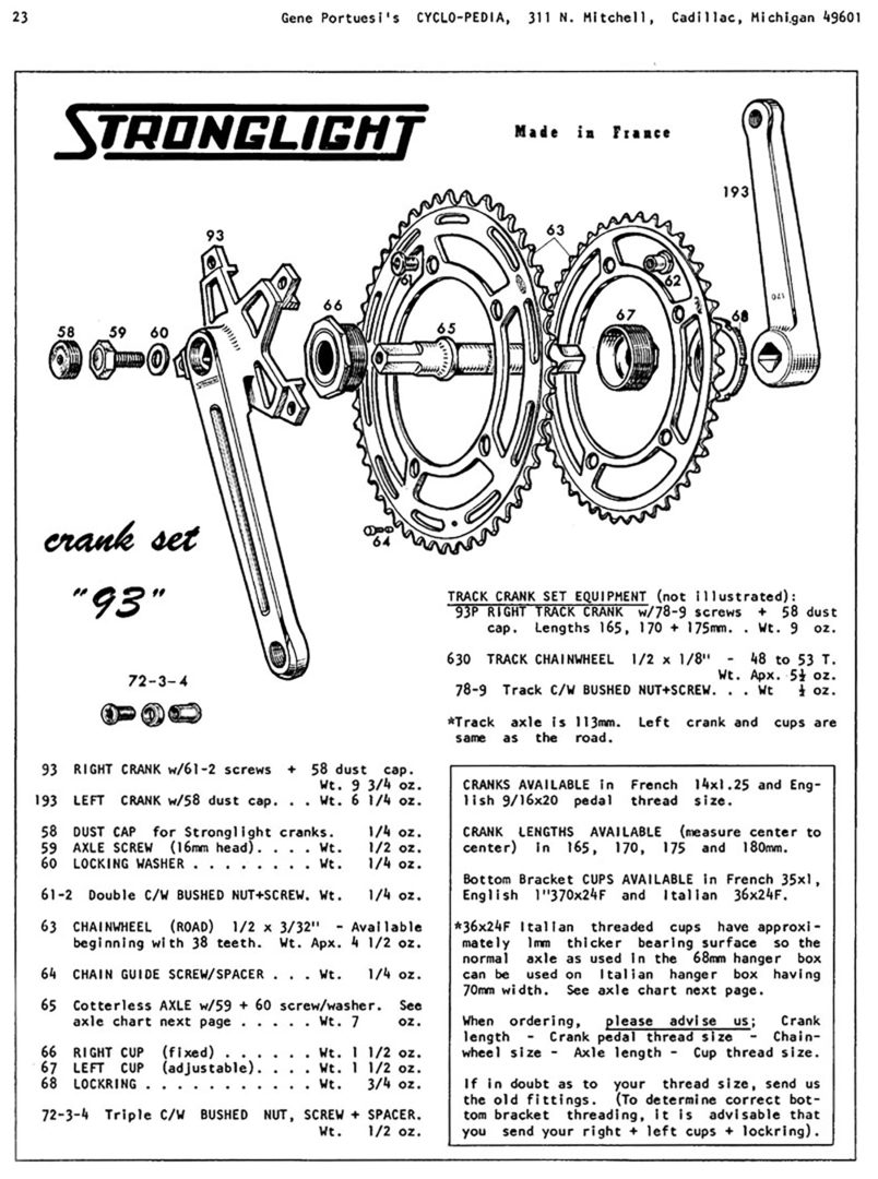 ebykr-stronglight-model-93-crankset-cyclo-pedia-page-23 (Stronglight: Eyes on the Future)