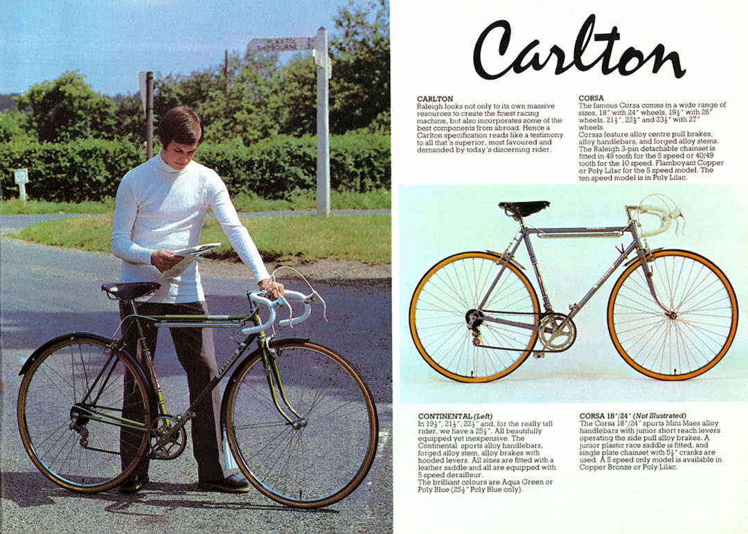 Carlton Corsa Continental Advertisement