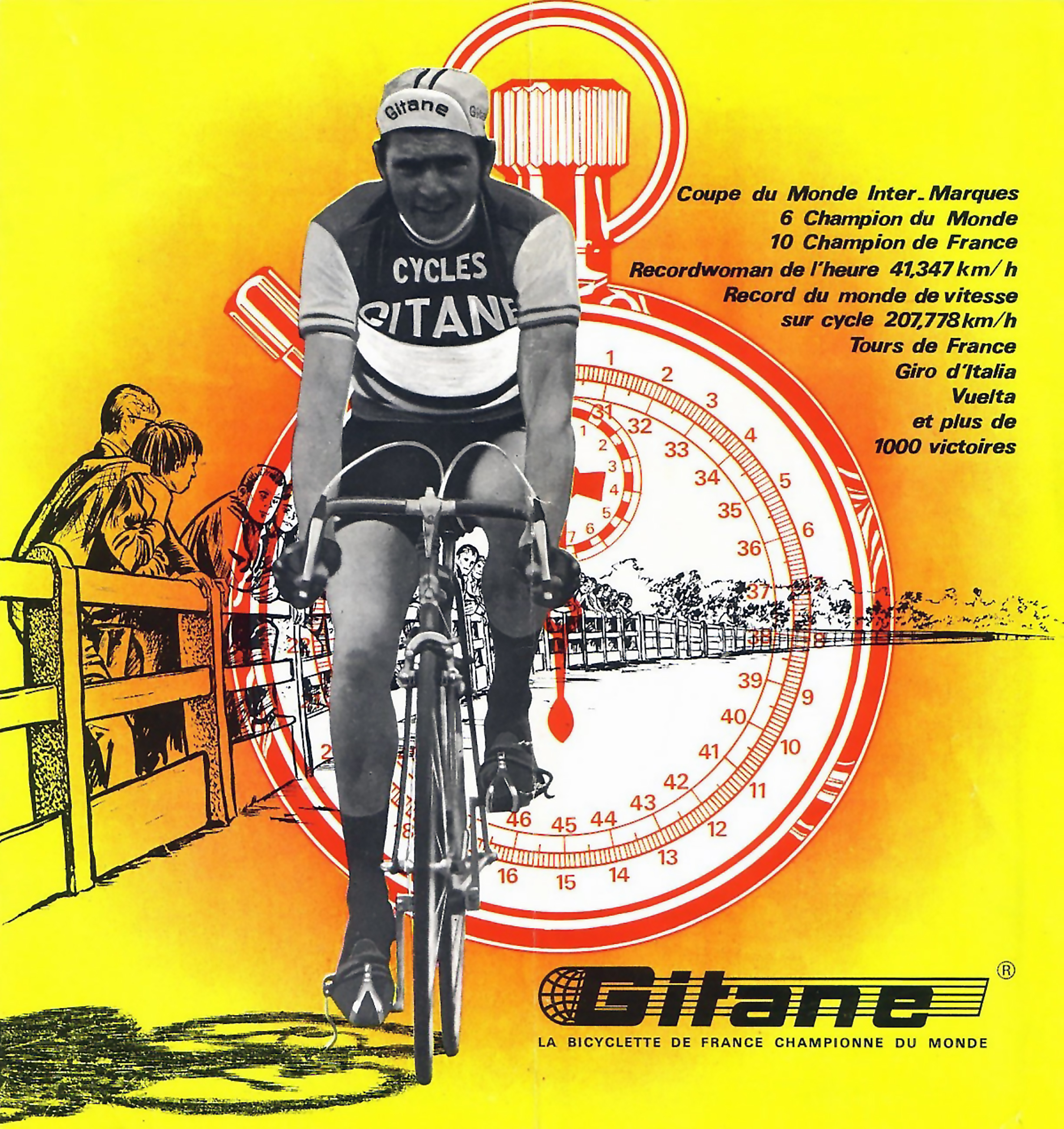 Gitane 1960 Catalog Cover