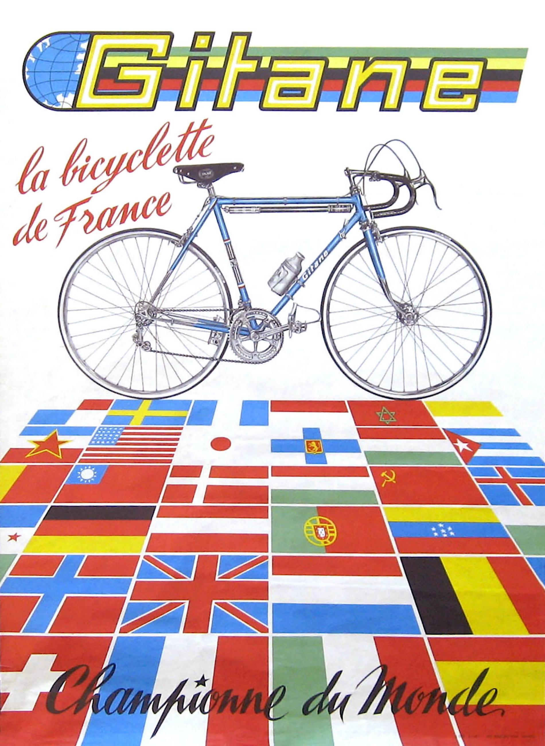 Gitane 1968 Advertisement