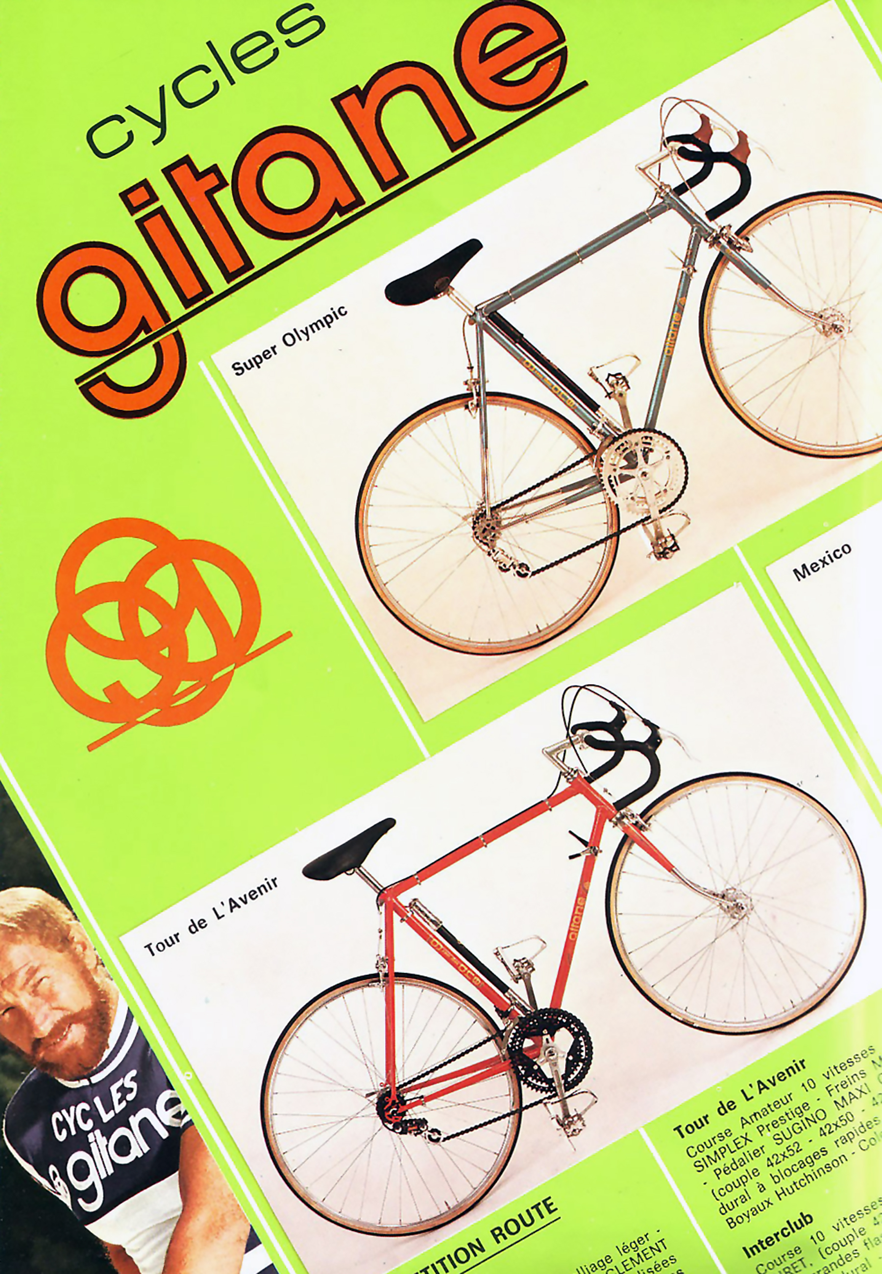 1975 Gitane France Catalog Page 2