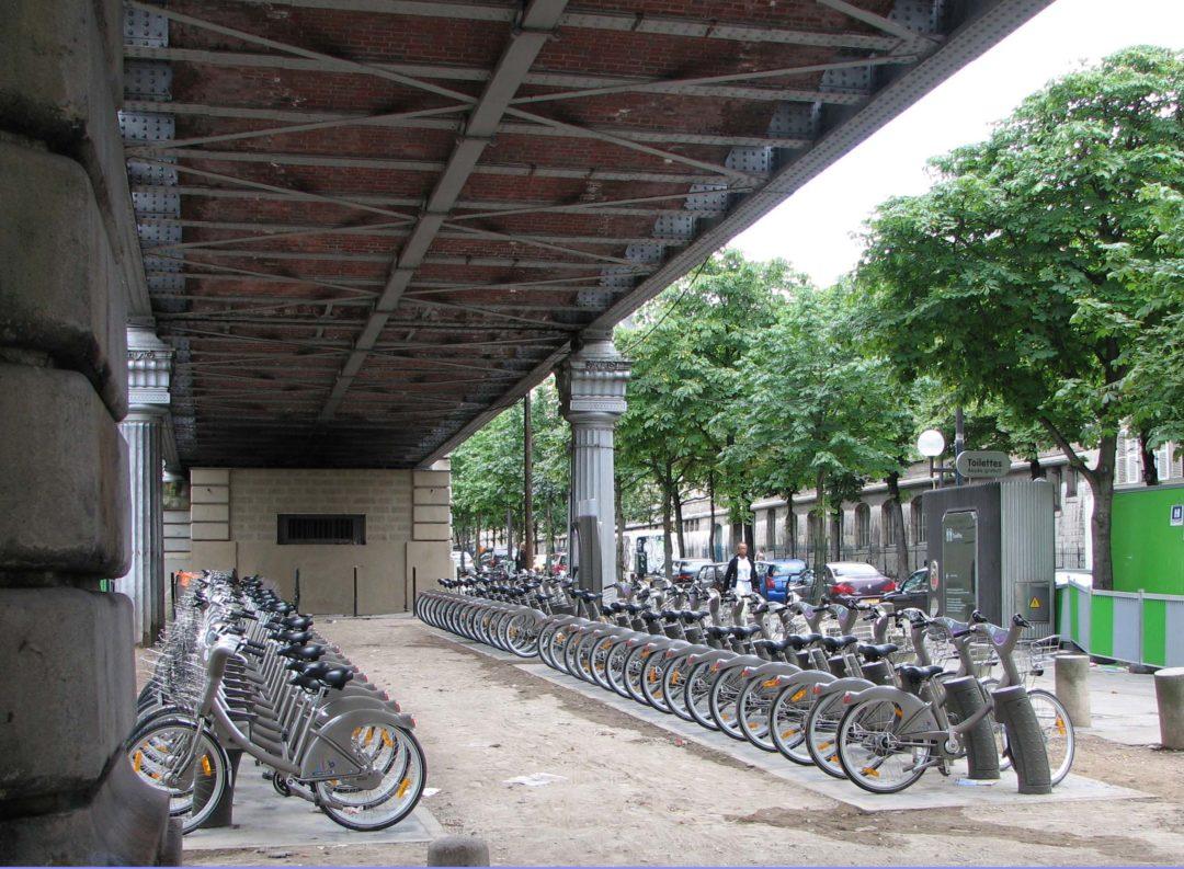 Vélib_Sèvres-Lecourbe
