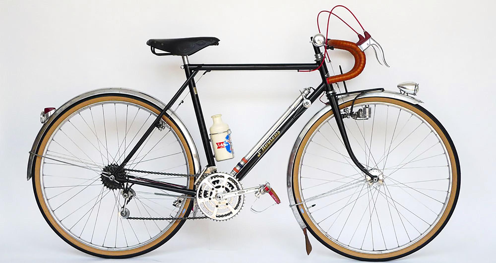 Ebykr 1950s Jo Routens Randonneur Cycles Grand Bois Restoration