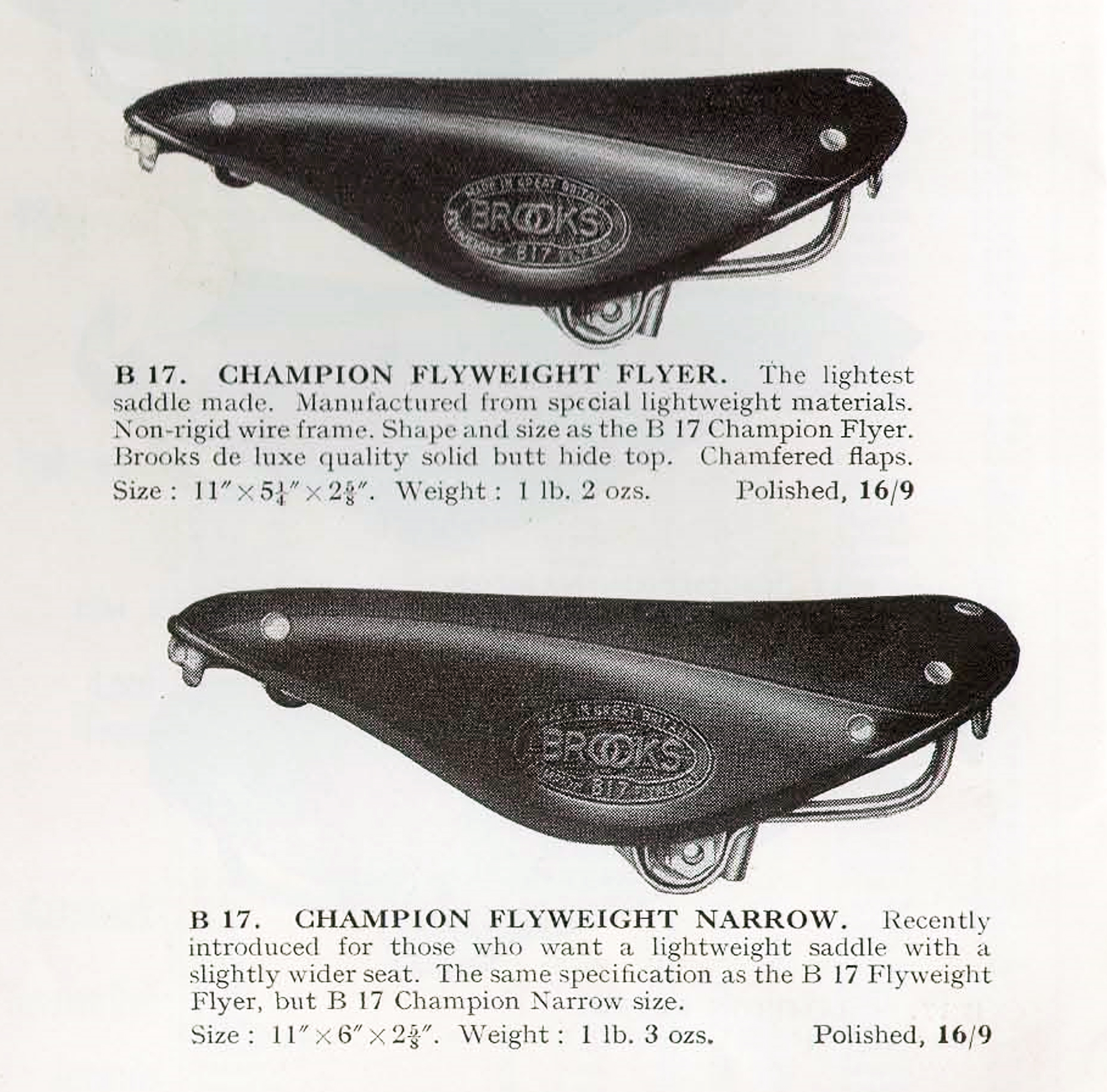 ebykr-brooks-b-17-champion-flyweight-saddles-1938-catalog-page-6