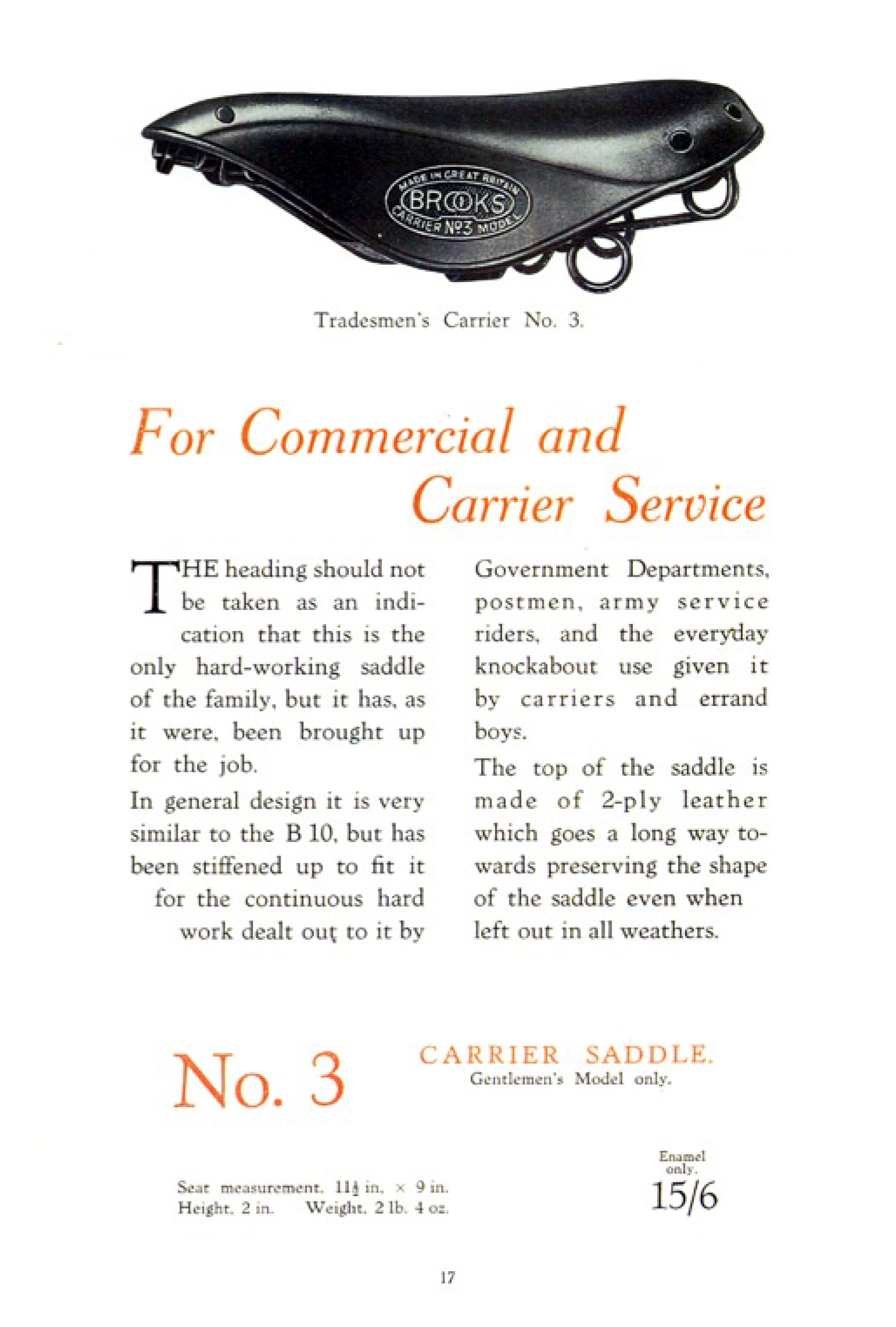 ebykr-brooks-no-3-commercial-carrier-service-saddle-1927-catalog-page-17