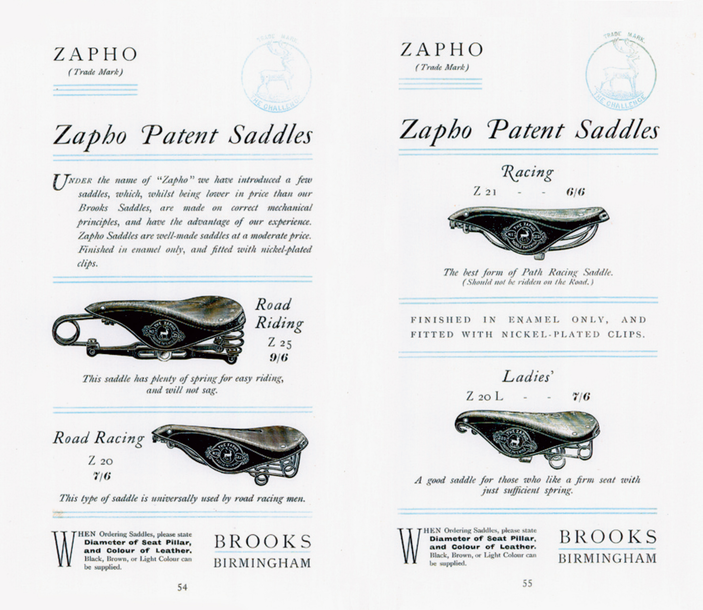 ebykr-brooks-zapho-saddles-1901-catalog-pages-54-55