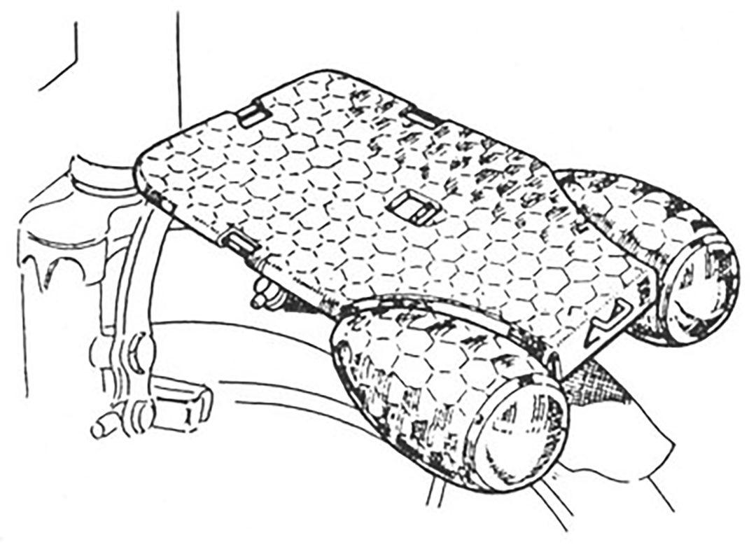 ebykr-daniel-rebour-luxor-dual-light-duralumin-rack (Random Rebour: Random Bicycle Drawing by Daniel Rebour)