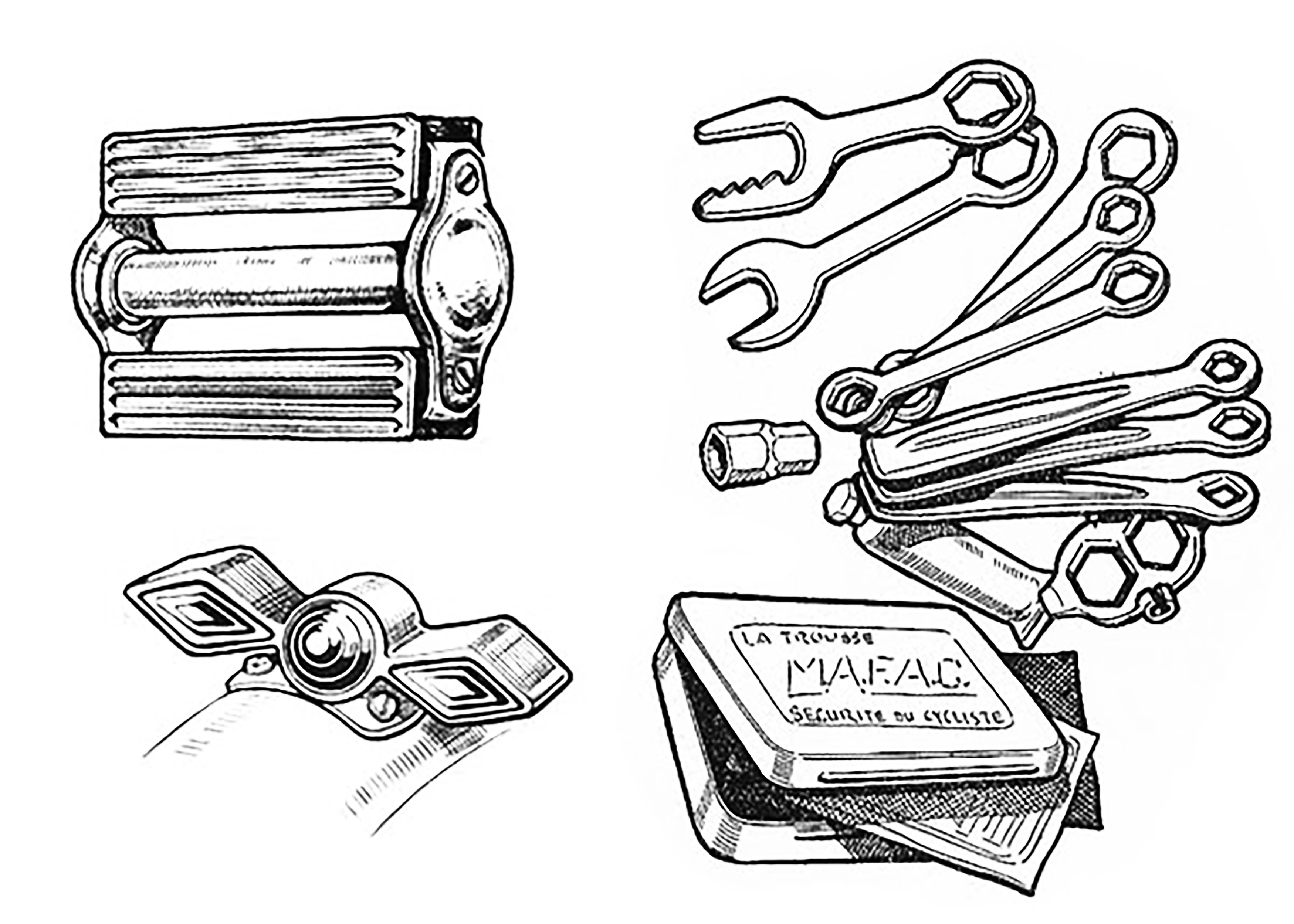 Daniel Rebour Misc. Bicycle Parts and Tools