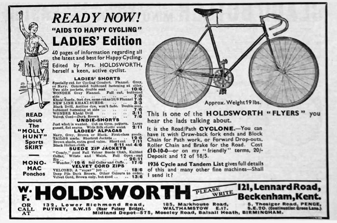 ebykr-holdsworth-1936-aids-to-happy-cycling-ladies-products (Holdsworth: British Reliability, Personified)
