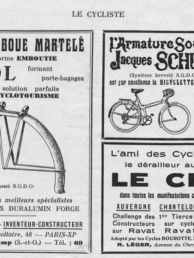 ebykr-lefol-1936-april-le-cycliste-magazine-advertisement (J. Lefol: Inventeur – Constructeur)